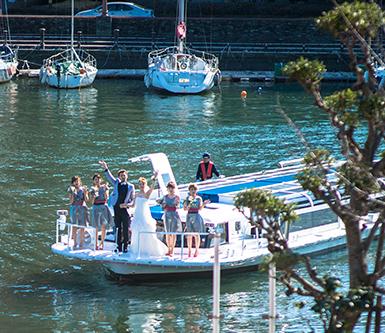 クルーズ挙式 ふたりの人生の船出を祝う ザ・パシフィックハーバーならではの挙式スタイル