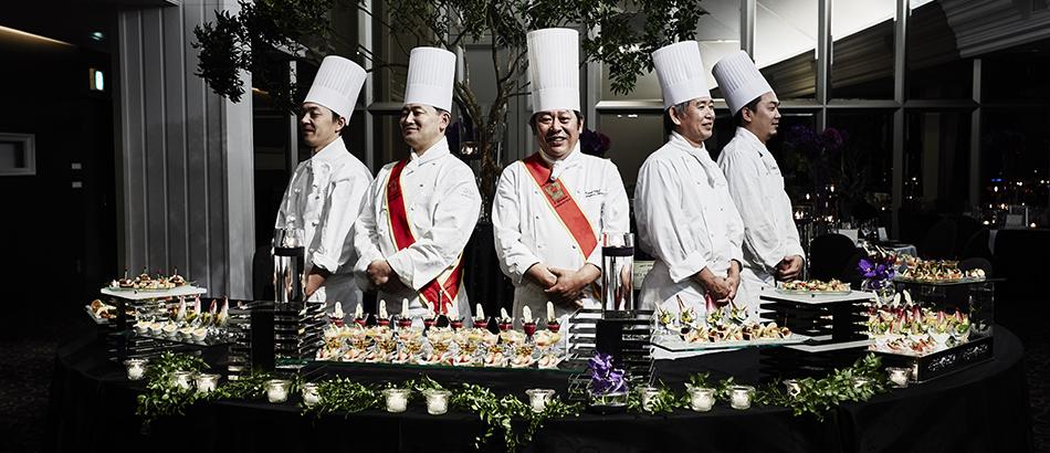 祝宴で世界の美食をクルージングの画像