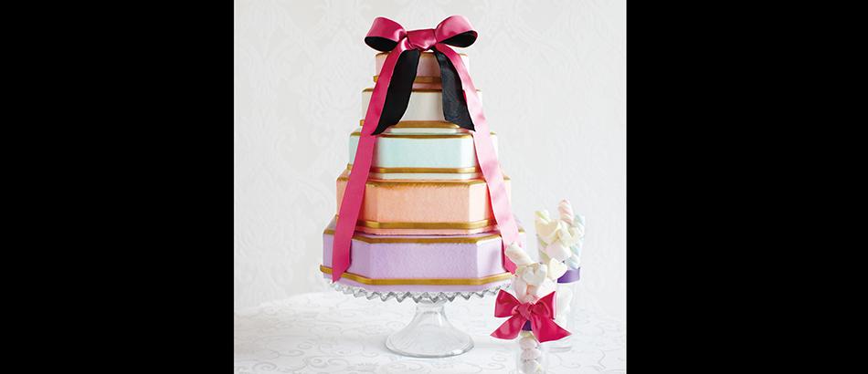 ウエディングケーキ画像